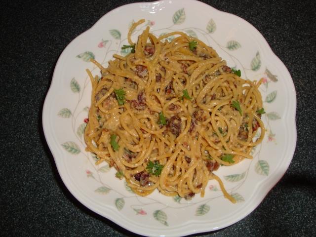 Tyler Florence's Spaghetti Carbonara