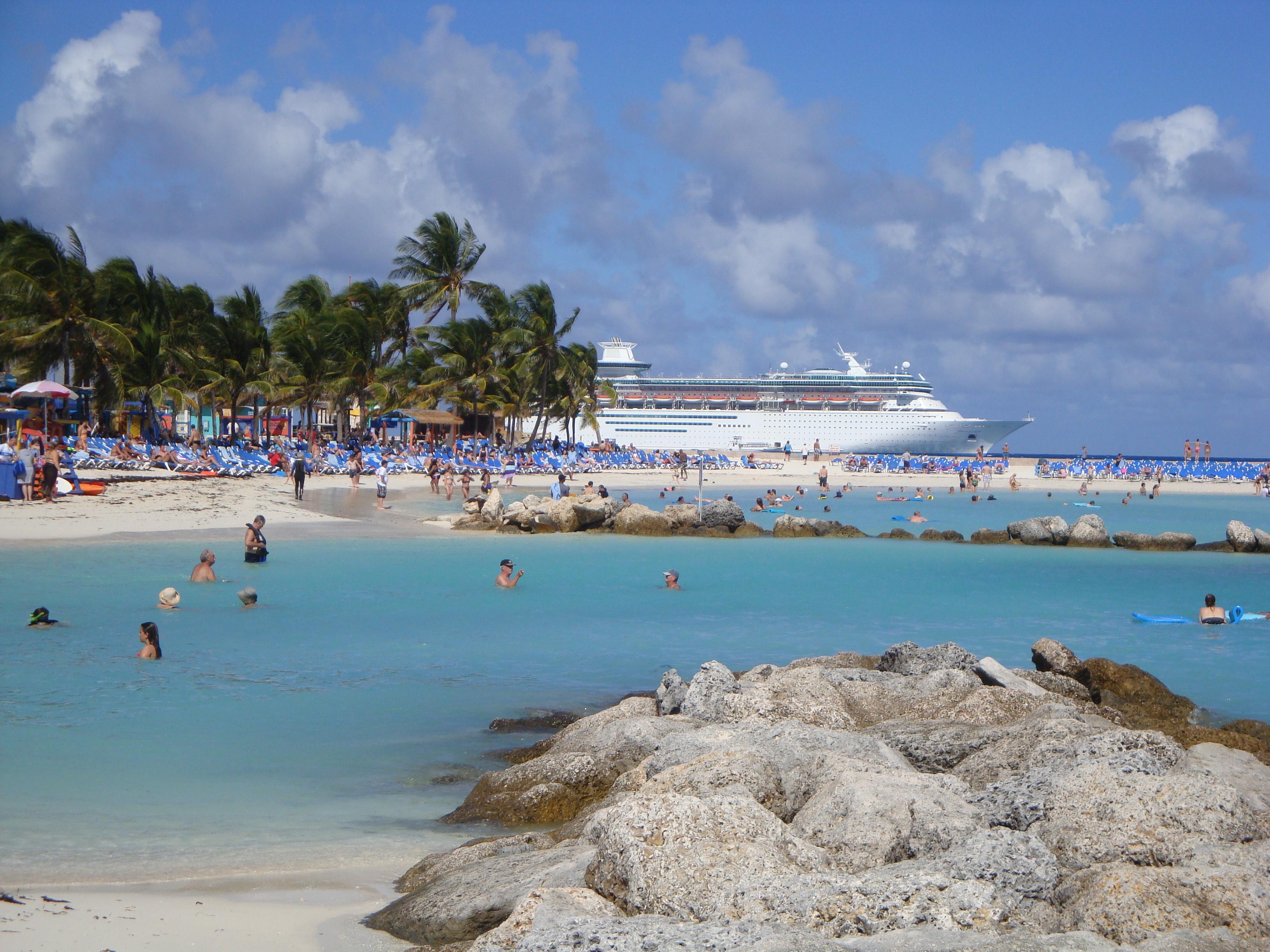cruising to the bahamas fun day at cococay the delicious divas