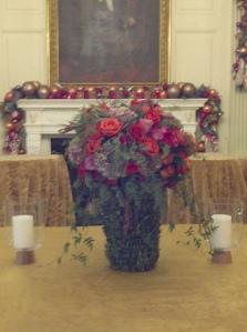 Floral arrangement Jennifer thought was beautiful.
