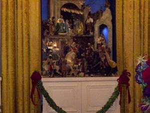 Beautiful nativity scene.