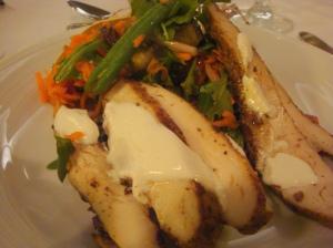 My favorite dish 'Moroccan Spiced Chicken Salad'
