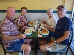 Clockwise (Bob, Sandy, Mary and Randy)