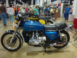Pre-production 1974 Gold Wing #40.  May be the oldest Gold Wing.
