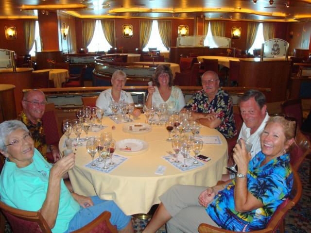 Diamond, Lee, Mary, Rosina, Frank, Max and Crystal