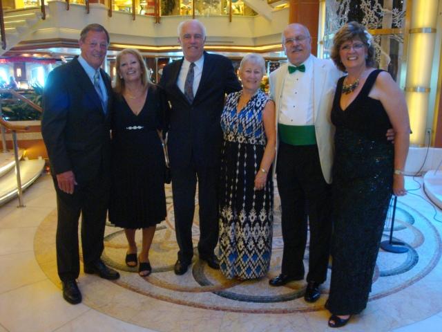 Max, Crystal, Randy, Mary, Frank and Rosina
