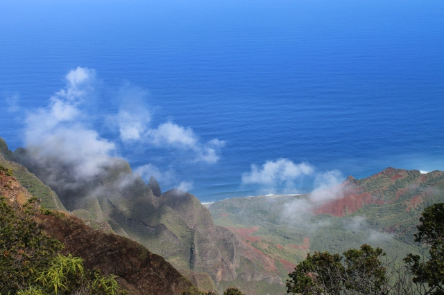 view from Kalalau Lookout