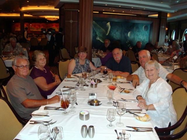 From left-Leo, Tess, Rachel, Paul, Randy, Mary