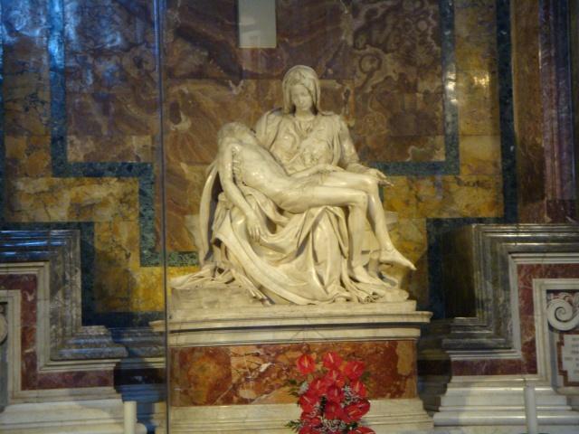 "Michelangelo's ""La Pieta"""