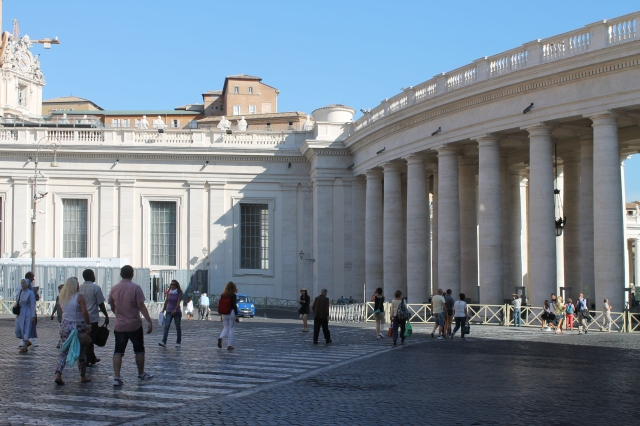 Entrance to Vatican City