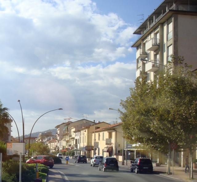 Entering Montecatini
