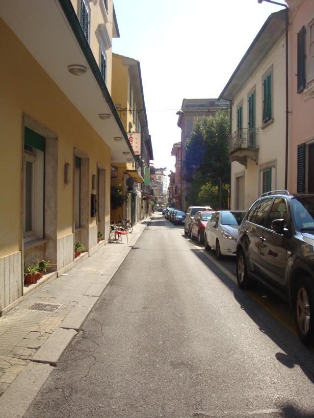 Street of Montecatini were very narrow.