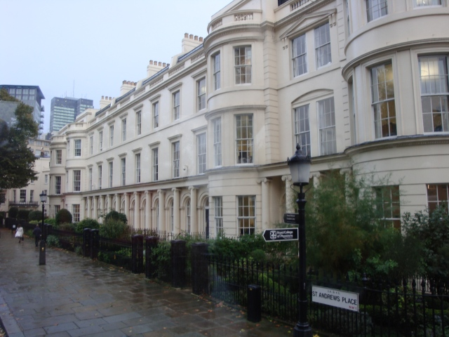 Beautiful St. Andrews Place, London