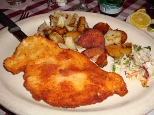 Chicken Schnitzel, yummy!