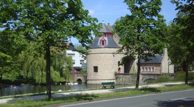 Medieval city gate
