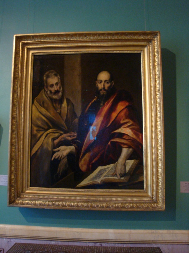 The Apostles Saint Peter and Saint Paul by El Greco