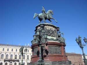 Monument to Nicholas I by Velgelt