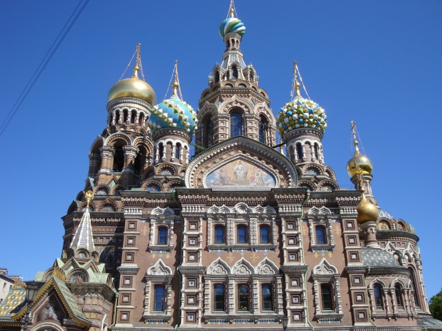 Church of the Spilled Blood (Resurrection of Christ Church)