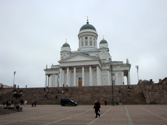 Helsinki Cathedral in Senate Square