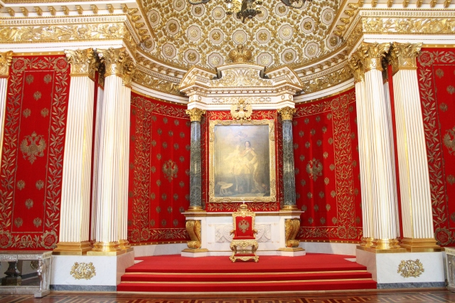 Winter Palace - Peter the Great Hall