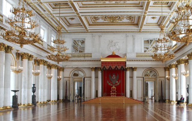 Winter Palace - St. George Hall (Great Throne room)