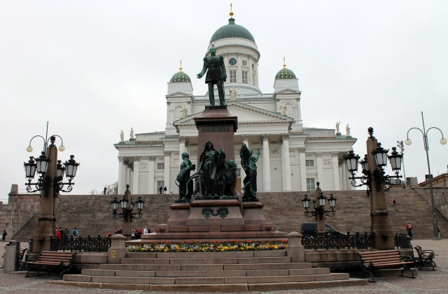 Statue of the Russian Emperor Alexander II