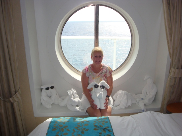 My fun towel animal collection Oasis of the Seas October 2010