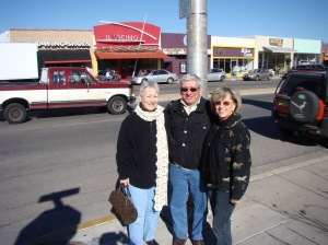 Mary, Jim and Vilma enjoying the sites along Route 66 in 2009