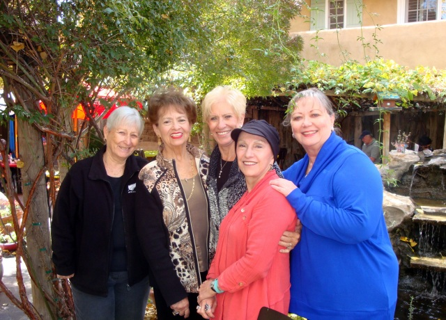 (From left) Mary, Pat, Carmen, Vilma and Sequin