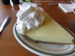 Key lime pie. Yum!