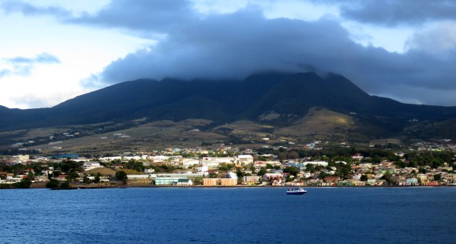 Coastline of St. Kitts