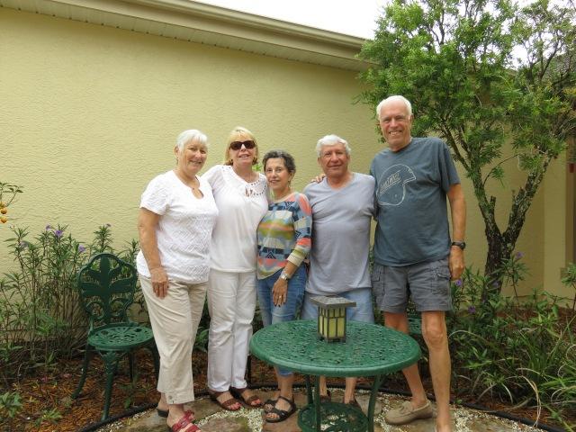 Great visit with Jim, Vilma and Geri