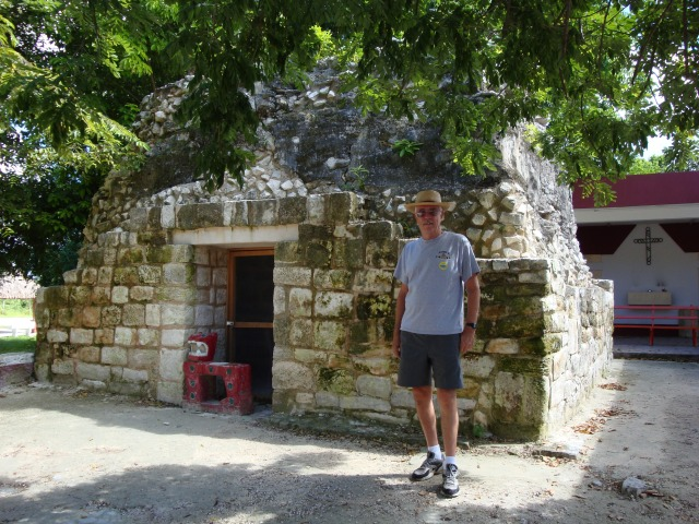 Mayan ruins in San Gervasio. We were here in 2008