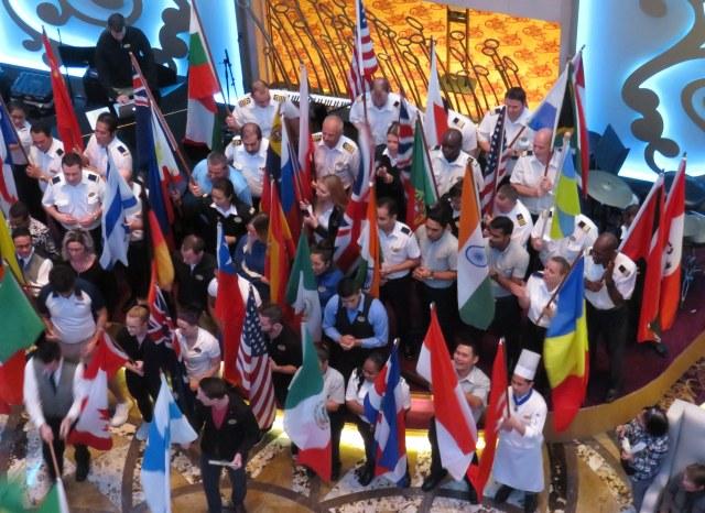 International Crew Parade of Nations