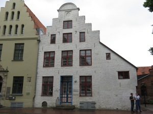 Interesting building built in 1731 outside church