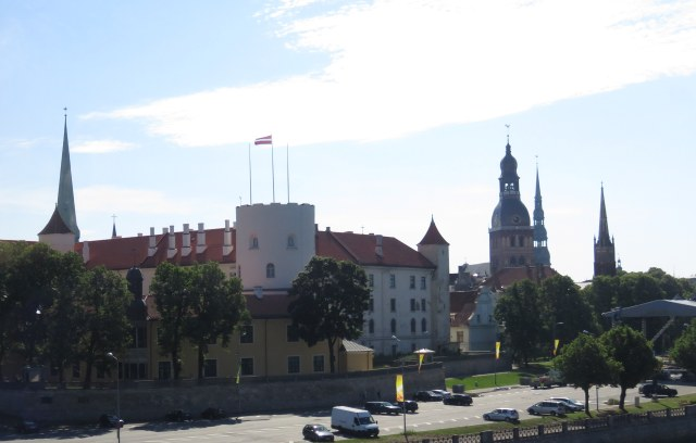 Riga Castle and skyline