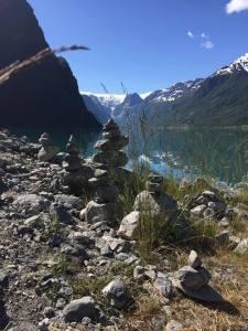 Vilma - Briksdal glacierb