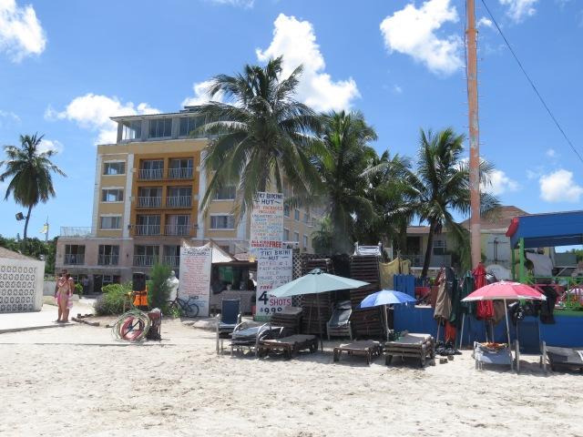 Back view of Tiki Bikini Hut