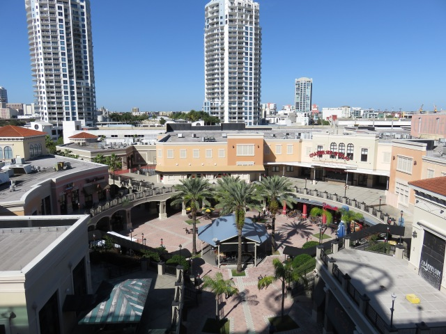 City Walk at Tampa port