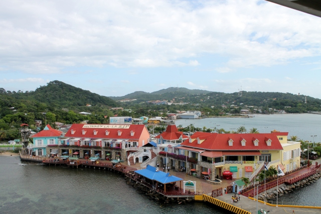 The port of Coxen Hole