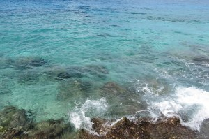 The color of the water in Cozumel is so beautiful.